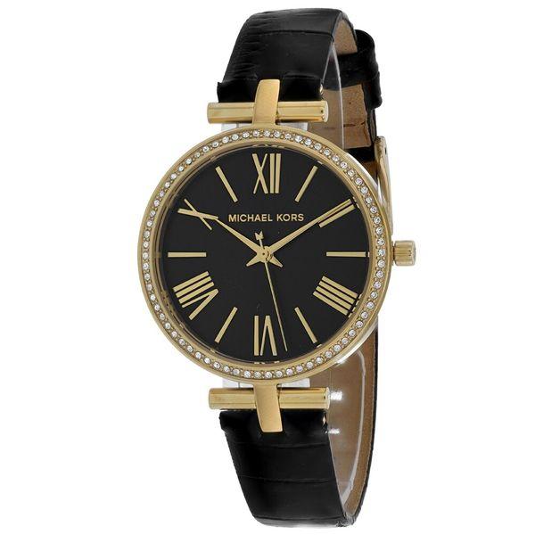 Michael Kors Women's Maci Black Dial Watch Diamonds Direct St. Petersburg, FL