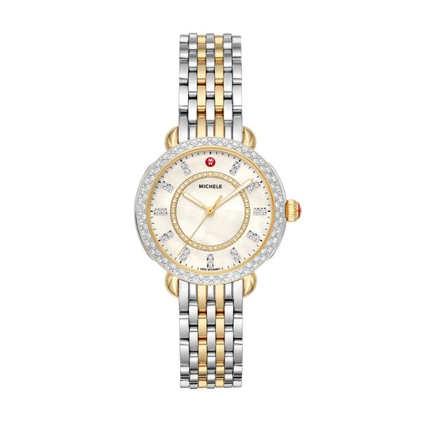 Sidney Classic Two-Tone Diamond Complete Watch Diamonds Direct St. Petersburg, FL