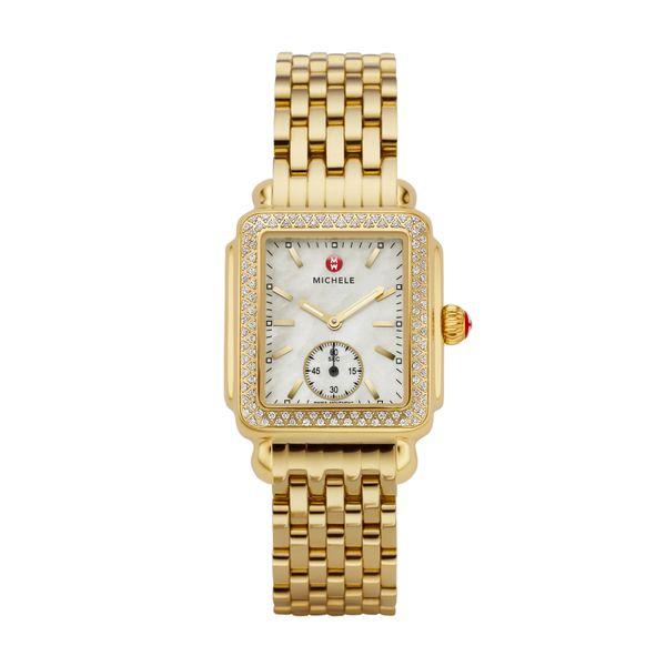 Deco Mid Diamond Gold Complete Watch Diamonds Direct St. Petersburg, FL