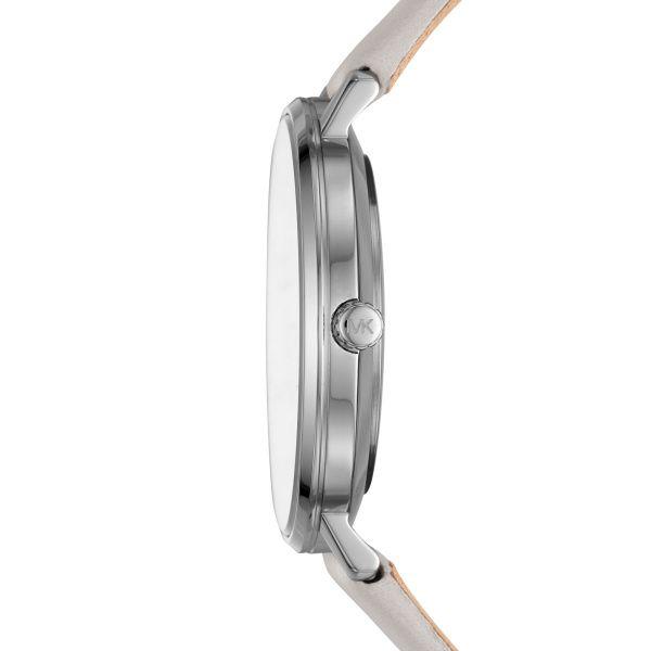 Michael Kors Pyper Watch with Grey Leather Strap  Image 2 Diamonds Direct St. Petersburg, FL