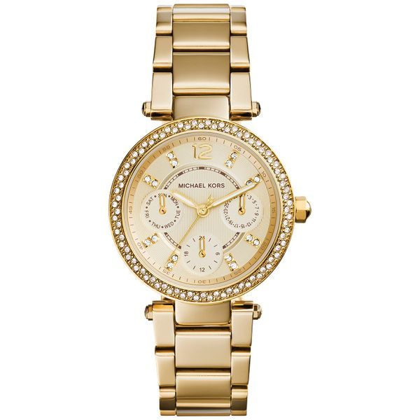 Women's Chronograph Mini Parker Gold-Tone  Diamonds Direct St. Petersburg, FL