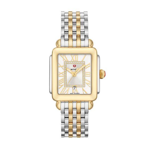 Deco Madison Mid Two-Tone Diamond Dial Complete Watch Diamonds Direct St. Petersburg, FL