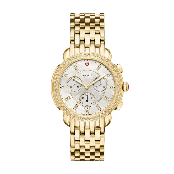 Sidney Diamond Gold, Diamond Dial Complete Watch Diamonds Direct St. Petersburg, FL