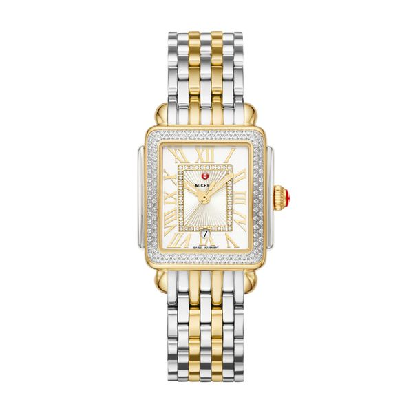 Deco Madison Mid Two-Tone Diamond Complete Watch Diamonds Direct St. Petersburg, FL