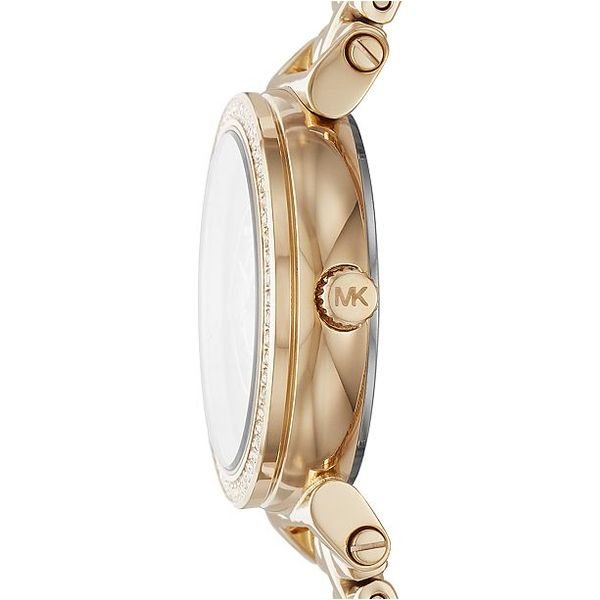 Women's Sofie Gold-Tone Stainless Steel Bracelet Watch Image 2 Diamonds Direct St. Petersburg, FL