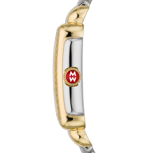 Deco Mid Two Tone Diamond, Two Tone Bracelet Complete Watch Image 2 Diamonds Direct St. Petersburg, FL