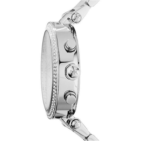 Women's Chronograph Parker Stainless Steel Bracelet Watch  Image 2 Diamonds Direct St. Petersburg, FL