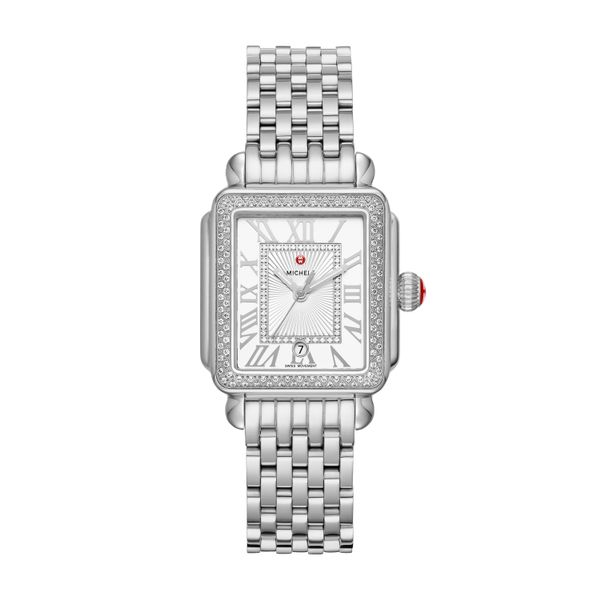 Deco Madison Mid Stainless-Steel Diamond Complete Watch Diamonds Direct St. Petersburg, FL