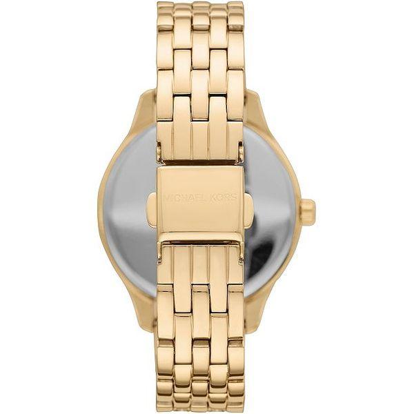 Michael Kors Lexington Three-Hand Gold-Tone Stainless Steel Watch Giftset Image 3 Diamonds Direct St. Petersburg, FL