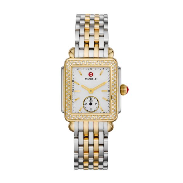 Deco Mid Two Tone Diamond, Two Tone Bracelet Complete Watch Diamonds Direct St. Petersburg, FL