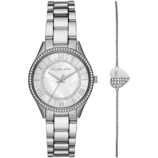 Michael Kors Women's Lauryn Three Hand Quartz Movement Watch Diamonds Direct St. Petersburg, FL