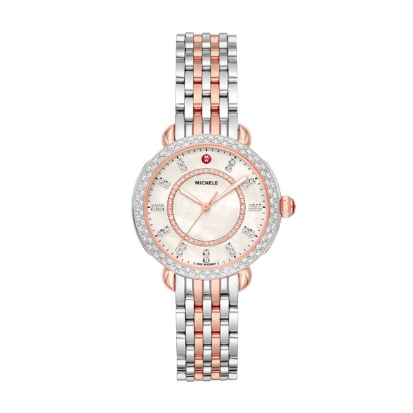 Sidney Classic Two-Tone Pink Gold Diamond Complete Watch Diamonds Direct St. Petersburg, FL