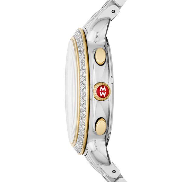 Sidney Diamond Two-Tone, Diamond Dial Complete Watch Image 2 Diamonds Direct St. Petersburg, FL