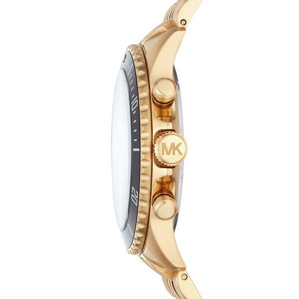 Michael Kors Gold and Black Watch  Image 3 Diamonds Direct St. Petersburg, FL