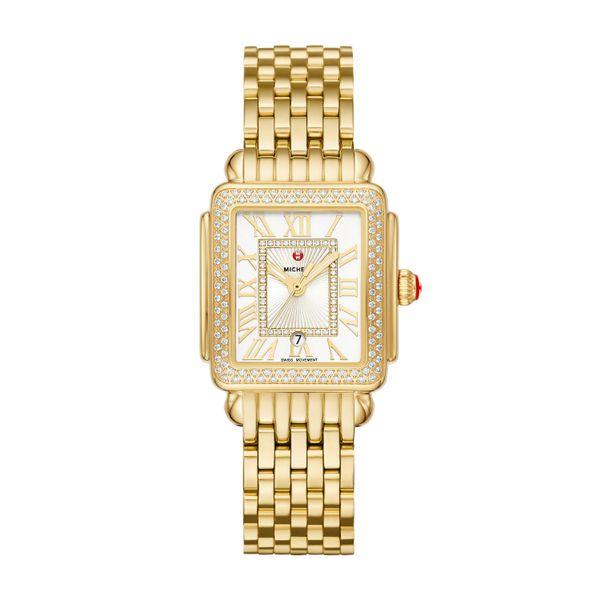 Deco Madison Mid Gold Diamond Complete Watch Diamonds Direct St. Petersburg, FL
