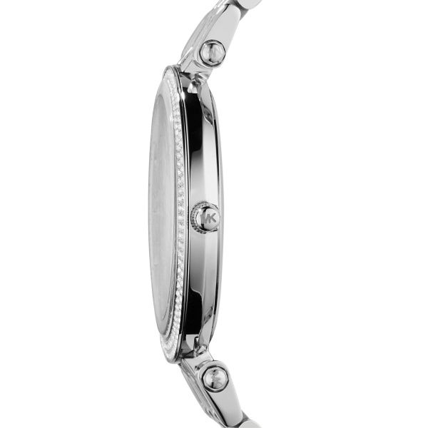 Michael Kors Silver Darci Watch  Image 3 Diamonds Direct St. Petersburg, FL