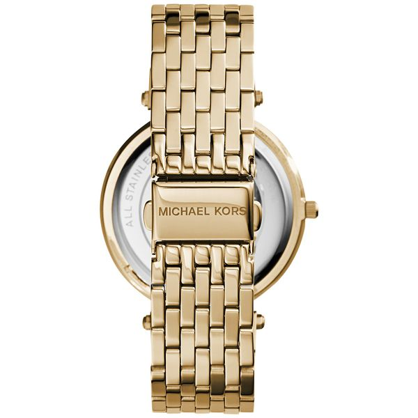 Women's Darci Gold-Tone Stainless Steel Bracelet Watch Image 3 Diamonds Direct St. Petersburg, FL