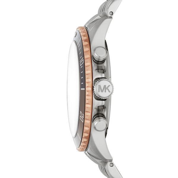 Michael Kors Two Tone Watch  Image 3 Diamonds Direct St. Petersburg, FL
