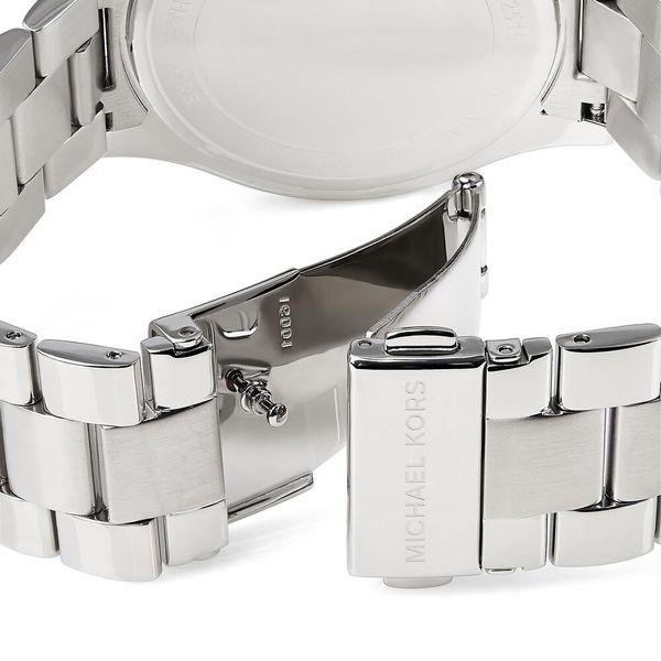 Michael Kors Women's Stainless Steel 'Runway' Watch - Silver Image 3 Diamonds Direct St. Petersburg, FL