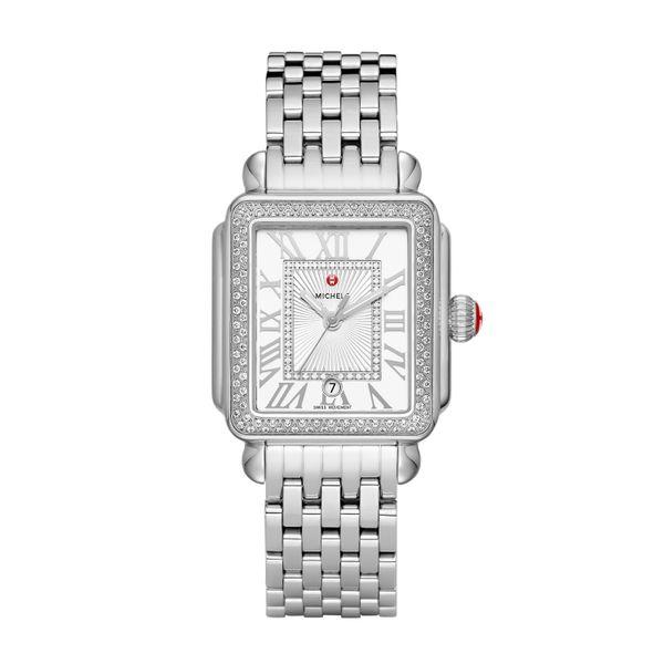 Deco Madison Stainless Steel Diamond Complete Watch Diamonds Direct St. Petersburg, FL