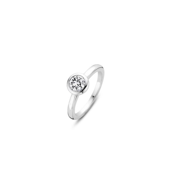 Ti Sento Sterling Silver Ring Diedrich Jewelers Ripon, WI