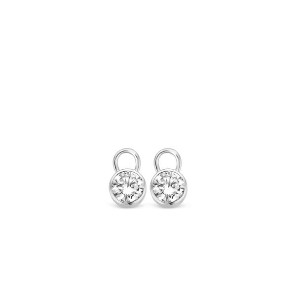 Ti Sento Sterling Silver Ear Charms Diedrich Jewelers Ripon, WI