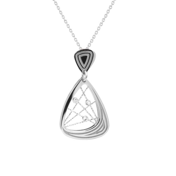 Frederic Duclos Sterling Silver Pendant Diedrich Jewelers Ripon, WI