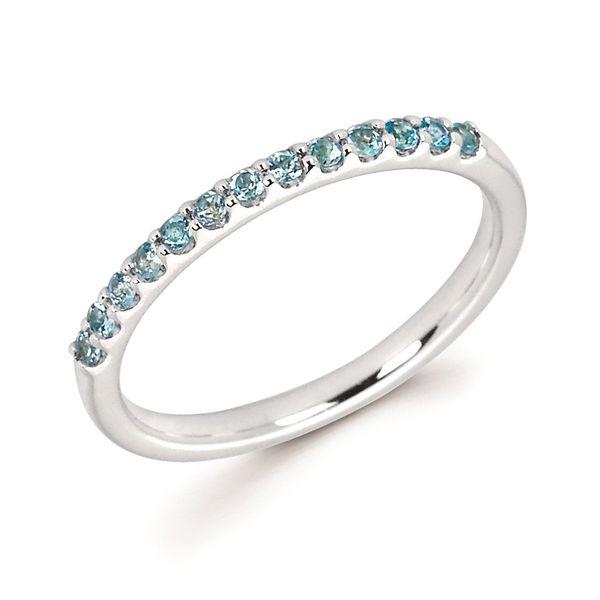 Ostbye Aquamarine Birthstone Ring Diedrich Jewelers Ripon, WI