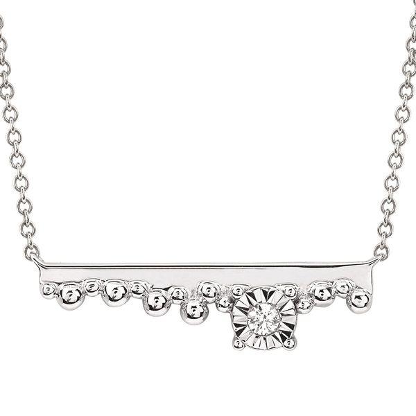 Sterling Silver Diamond Pendant Diedrich Jewelers Ripon, WI