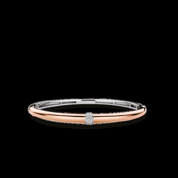 Ti Sento Sterling Silver Bangle Bracelet Diedrich Jewelers Ripon, WI