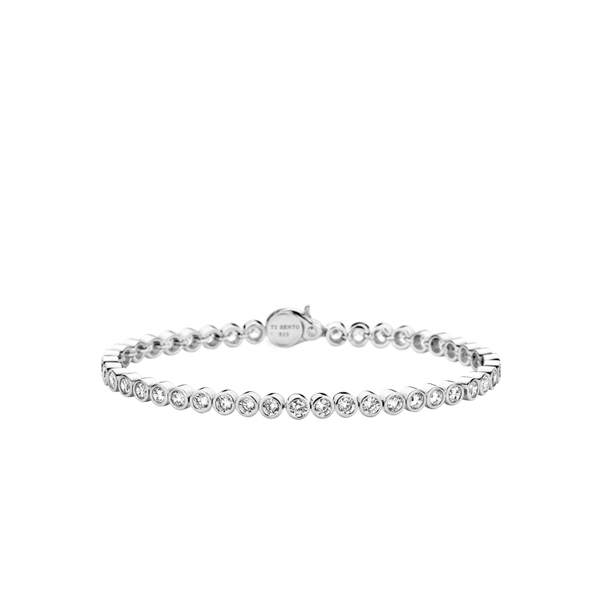 Ti Sento Sterling Silver Bracelet  Diedrich Jewelers Ripon, WI