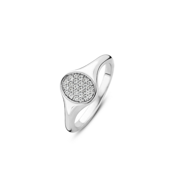 Ti Sento Sterling Silver Ring Diedrich Jewelers Ripon, WI