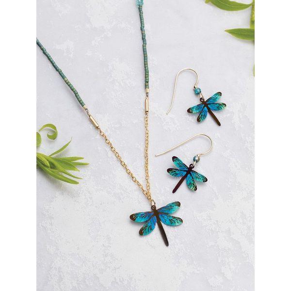 Dragonfly Dream Earrings Image 2 DJ's Jewelry Woodland, CA