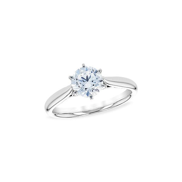 Solitaire Ring Mounting Image 2 DJ's Jewelry Woodland, CA