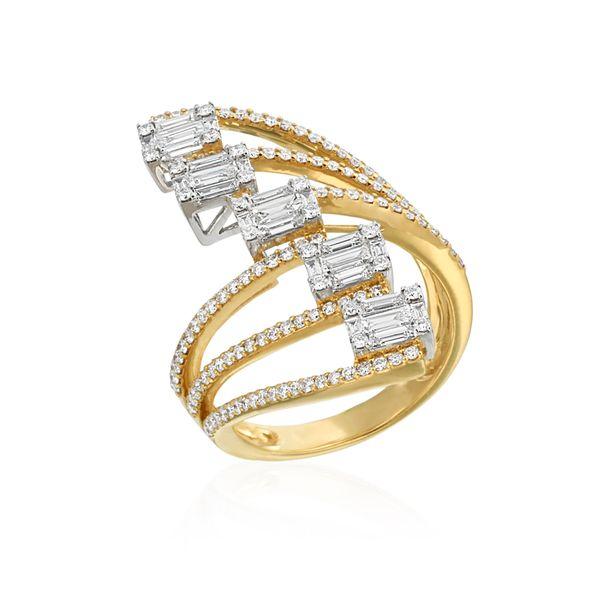 Cascading Diamond Ring DJ's Jewelry Woodland, CA