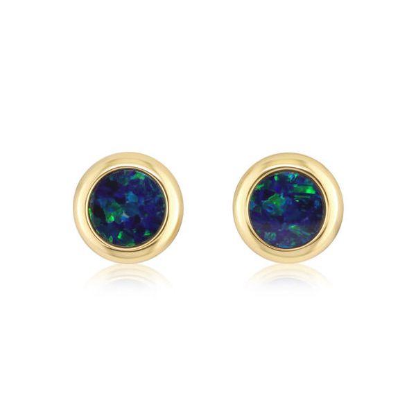 Opal Doublet - Round DJ's Jewelry Woodland, CA