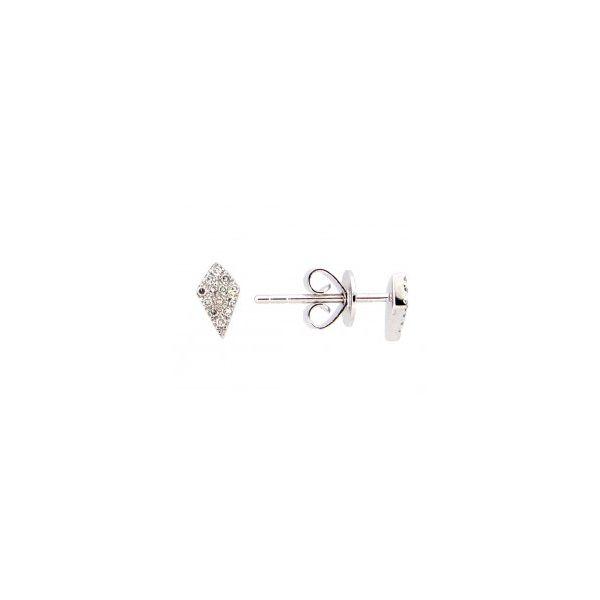 Diamond Kite Earrings Image 2 DJ's Jewelry Woodland, CA