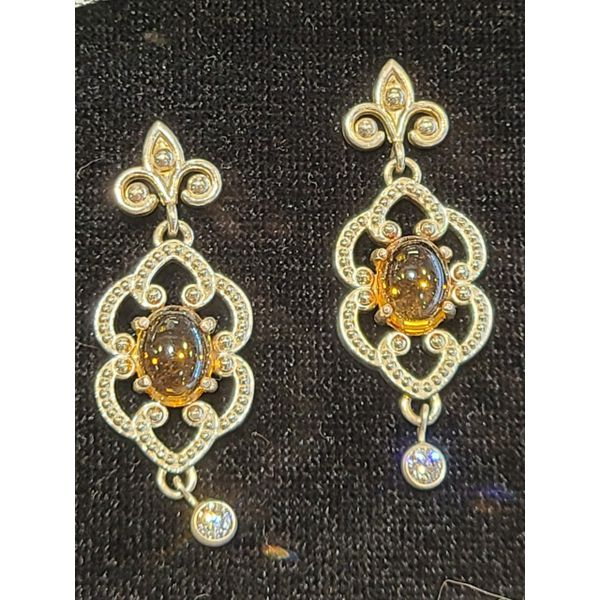 Citrine Earring DJ's Jewelry Woodland, CA