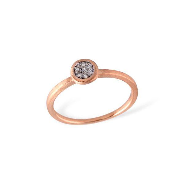 Black Diamond Cluster Ring Image 2 DJ's Jewelry Woodland, CA