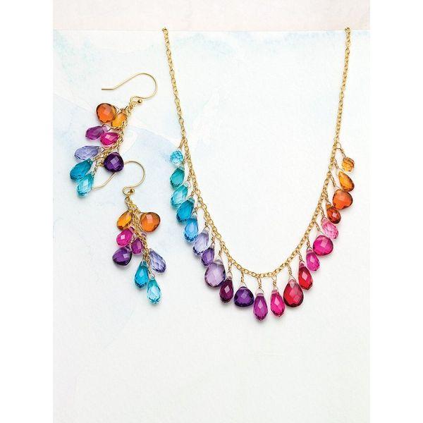 Rainbow Lorelei Earrings Image 2 DJ's Jewelry Woodland, CA