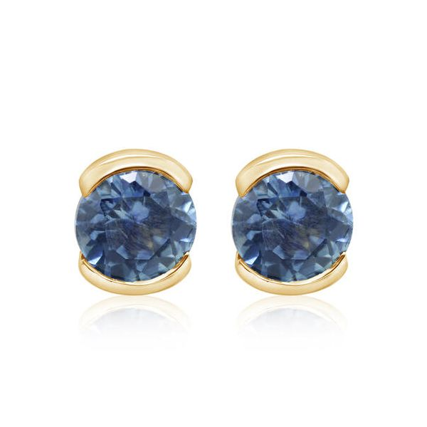 Montana Sapphire Earrings DJ's Jewelry Woodland, CA