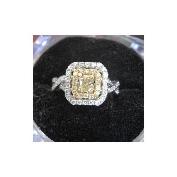 Yellow Diamond Engagement Ring Image 2 DJ's Jewelry Woodland, CA