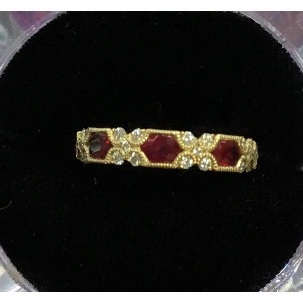 Ruby & Diamond Ring Image 2 DJ's Jewelry Woodland, CA