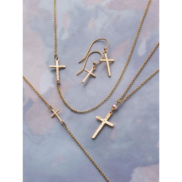 """Love & Honor"" Cross Bracelet Image 2 DJ's Jewelry Woodland, CA"
