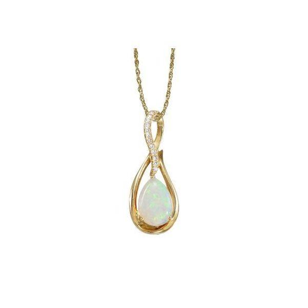 Australian Opal Pendant DJ's Jewelry Woodland, CA
