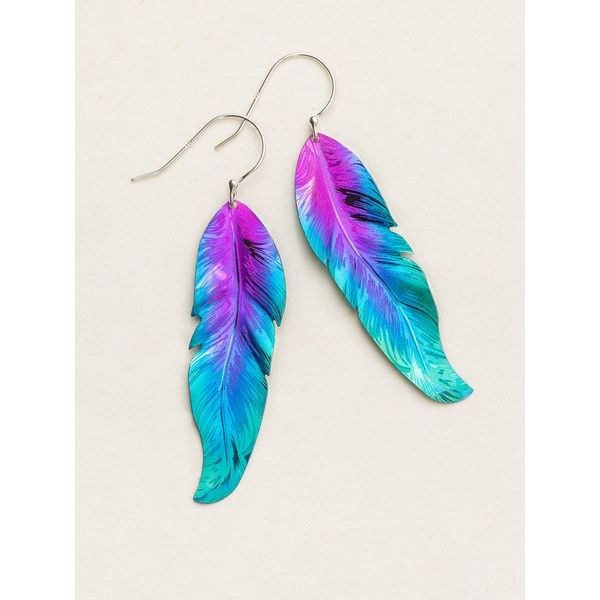 Free Spirit Feather Earrings DJ's Jewelry Woodland, CA