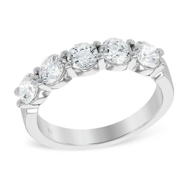 Shared Prong Diamond Ring DJ's Jewelry Woodland, CA