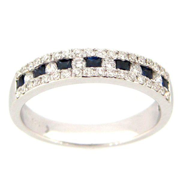 Diamond and Sapphire Ring DJ's Jewelry Woodland, CA