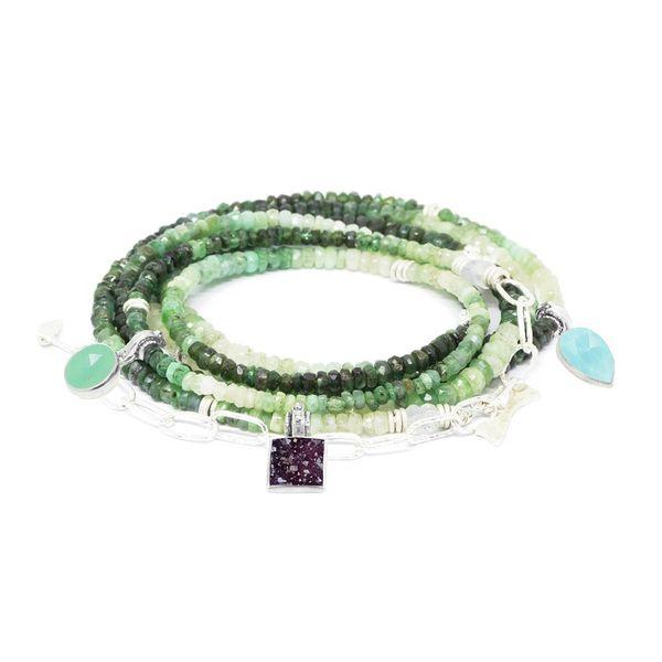 Emerald Necklette Image 2 DJ's Jewelry Woodland, CA
