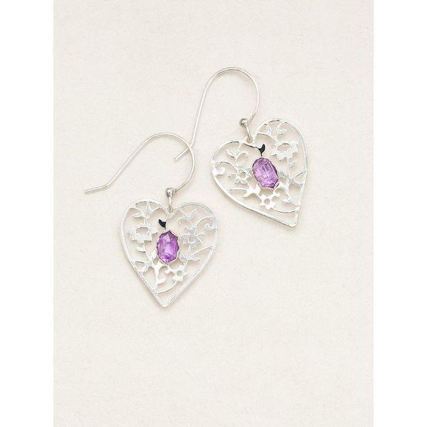 Blooming Heart Earrings DJ's Jewelry Woodland, CA